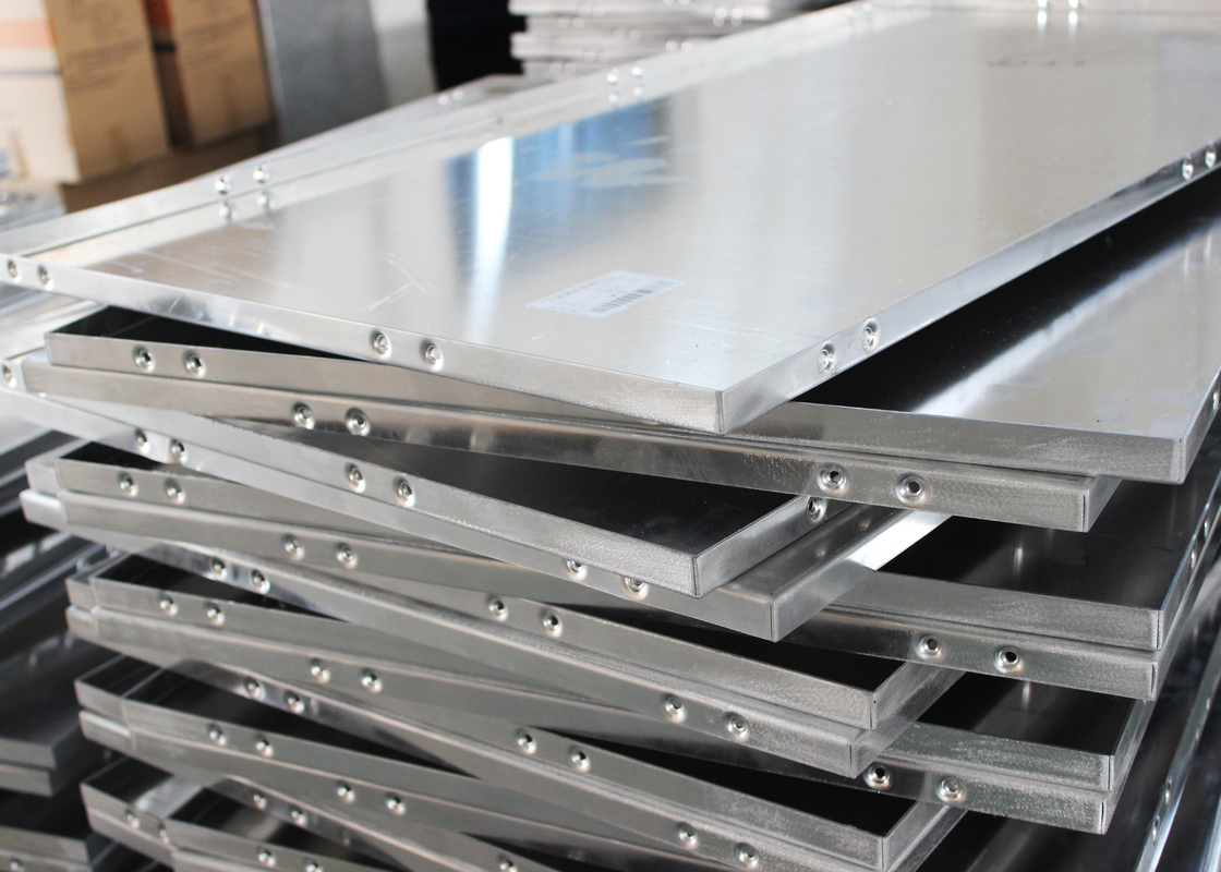 Profile Aluminum Wall Panels for Building Cladding , Concealed Aluminium Solid Panel