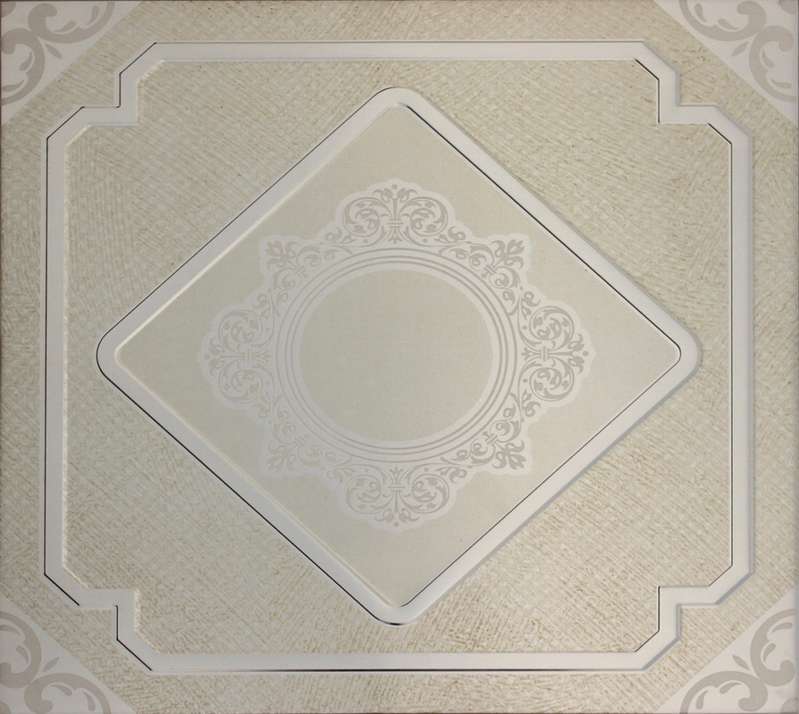 Home Drop Artistic Ceiling Tiles For Residential , Metal Ceiling Tiles